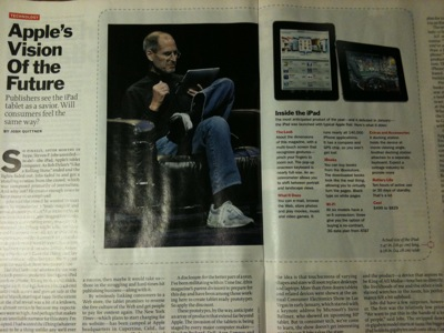 Steve Jobs at Time Magazine