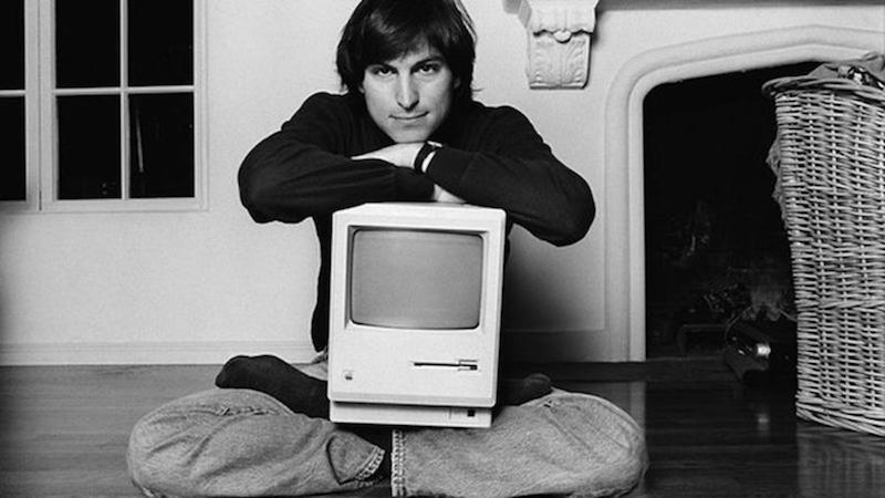 Steve Jobsと初代Mac