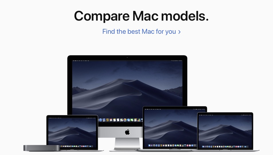 Macのモデル比較