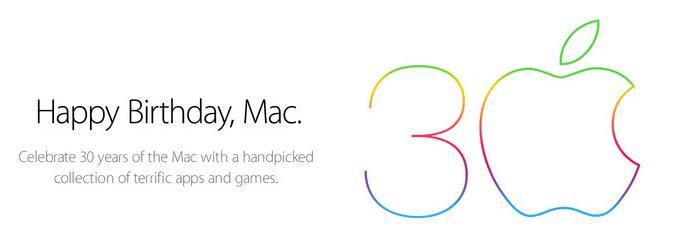Mac30周年記念