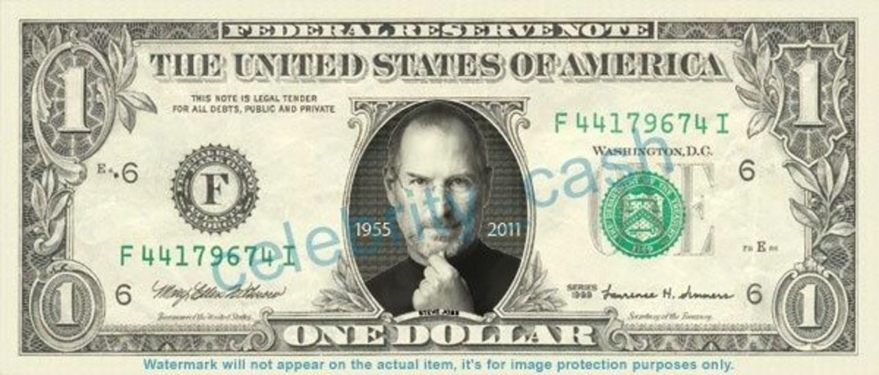 1ドル札ジョブス