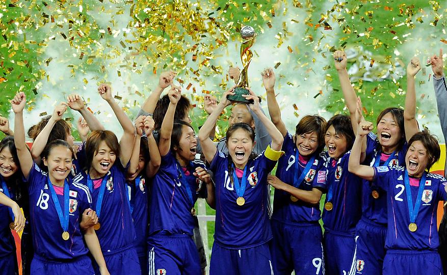 なでしこジャパンワールドカップ優勝