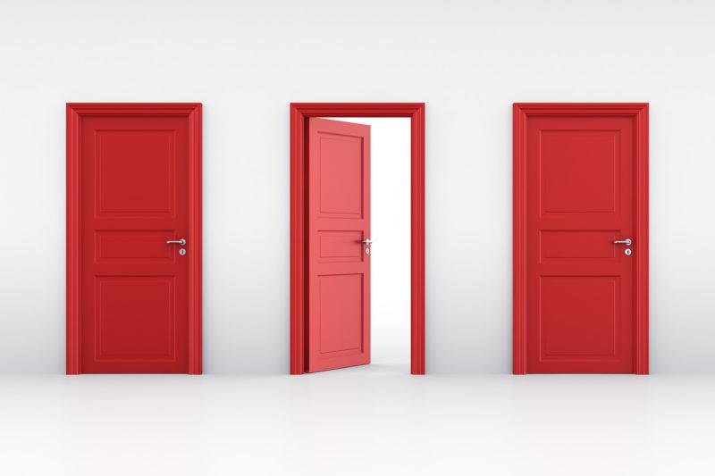 ドアの選択肢