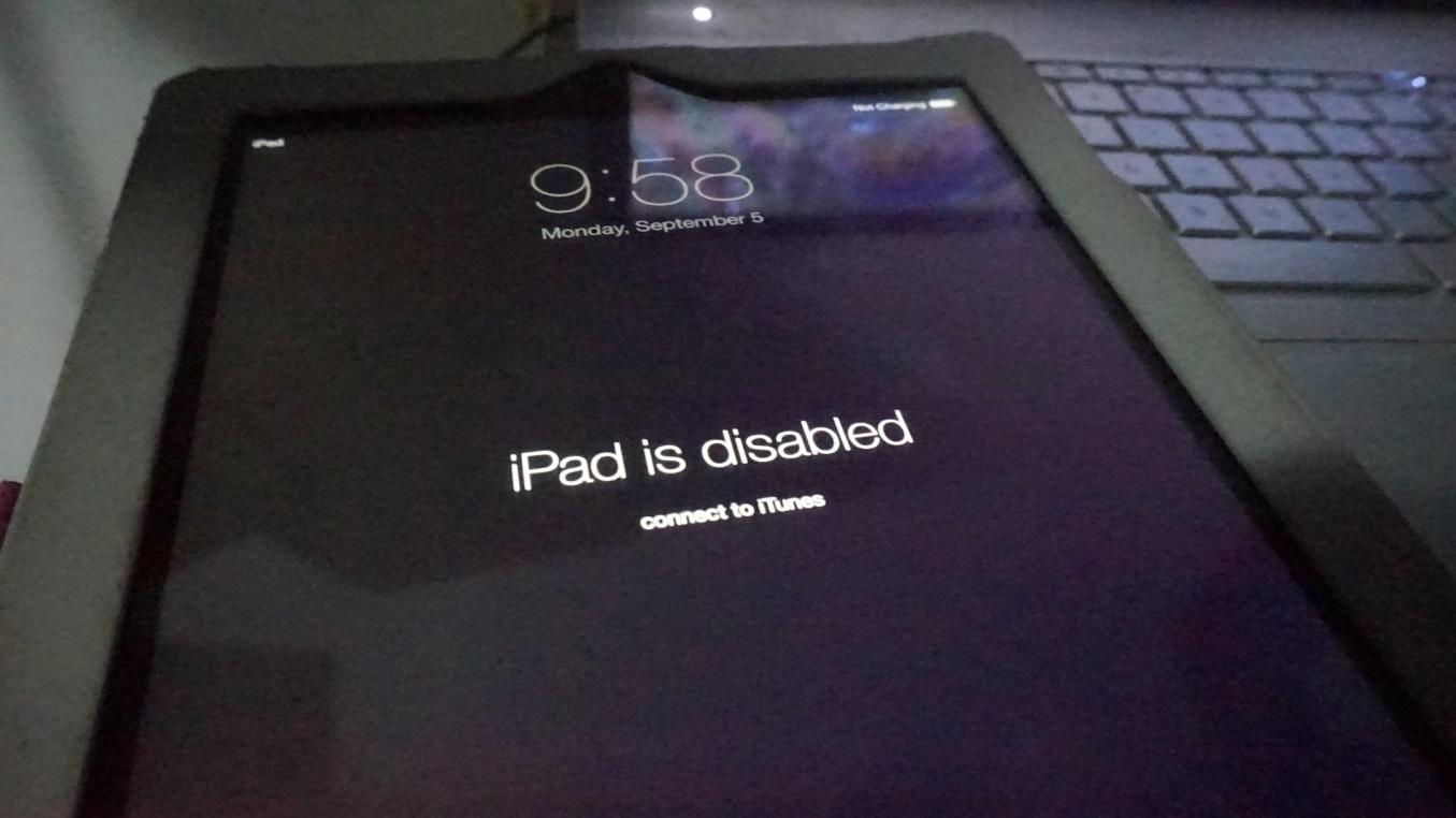 iPad故障2