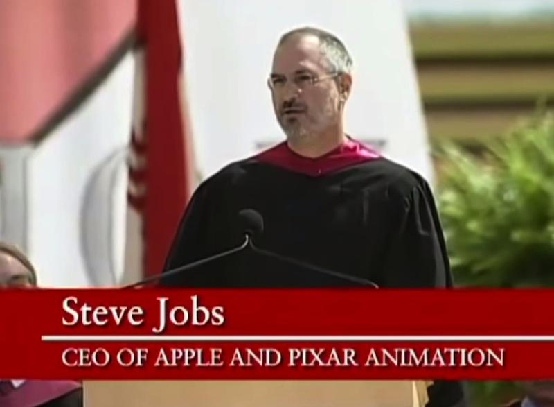 Steve Jobs at Stanford Univ. Speech