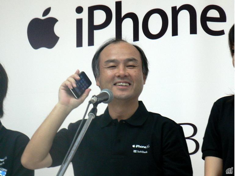 ソフトバンク孫正義iPhone