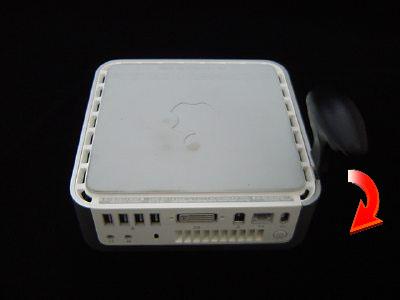インテル Mac mini Core Duo/Core 2 Duoのばらし方1