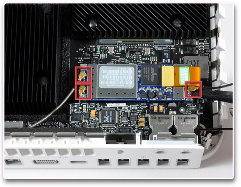 インテル Mac mini Core Duo/Core 2 Duoのばらし方11