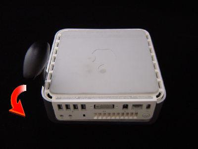 インテル Mac mini Core Duo/Core 2 Duoのばらし方3