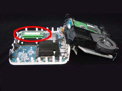 インテル Mac mini Core Duo/Core 2 Duoのばらし方9