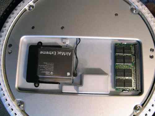iMacTFTメモリーを取り付けるバー3