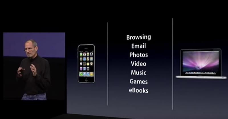 iPadのコンセプト