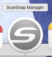 ScanSnap Managerアイコングレー